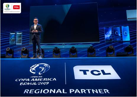 TCL成2021年美洲杯官方合作伙伴,继2019年后再次成官方赞助商